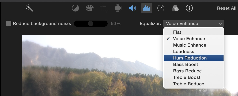 profiaudio.hu > iMovie 10 cikkek :: iMovie hangszerkesztés és hangsávok kezelése
