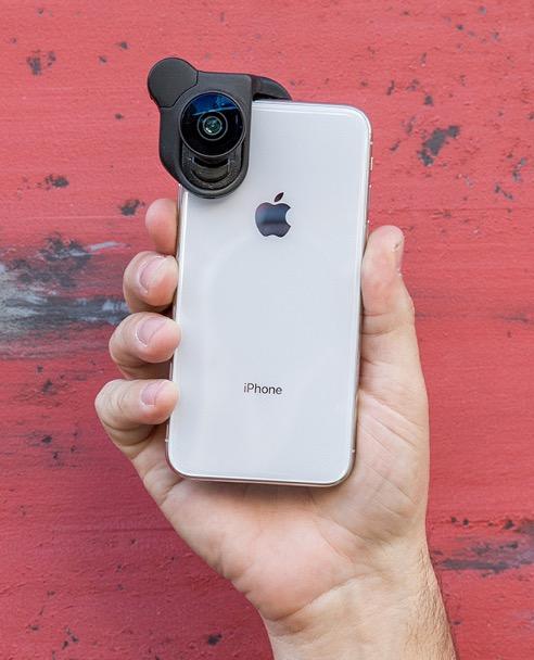 A tökéletesnek nem mondható iPhone 7 8 verzió után továbbfejlesztette a cég  a CONNECT nevű lencse rögzítő megoldását 130b224909